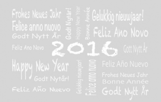 Neujahrsgrüße in 26 Sprachen