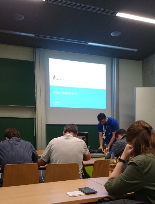 MobileCamp Dresden 2016 eine Session