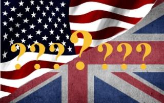 Unterschiede zwischen amerikanischem und britischem Englisch