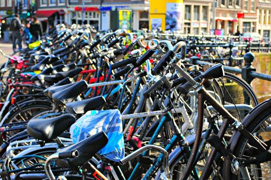 Fahrradfahren - Alltagssport auf niederländisch