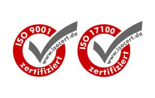 DIN EN ISO 17100 zertifiziertes Übersetzungsbüro